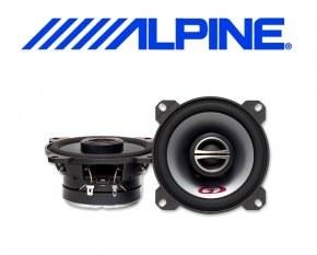 Alpine Auto Lautsprecher Koax 10cm 45W SPG-10C2
