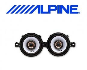 Alpine Auto Lautsprecher Koax 8.7cm 20W SXE-0825S