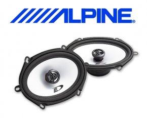 Alpine Auto Lautsprecher Koax 13x18cm 35W SXE-5725S