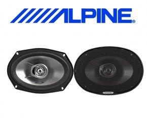 Alpine Auto Lautsprecher Koax 15x23cm 45W SXE-6925S