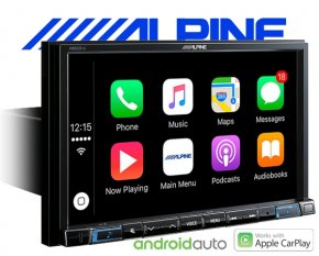 "Alpine Autoradio X802D-U Navigation Apple Carplay Android 1-DIN 8"" Monitor mit DAB+ USB HDMI Bluetoo"