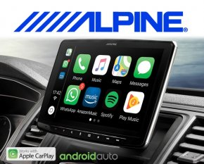 "Alpine Autoradio iLX-F903D Apple Carplay Android 1-DIN 9"" Monitor mit DAB+ USB HDMI Bluetooth"