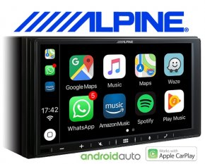 Alpine Autoradio iLX-W650BT USB Apple Carplay Android Auto Bluetooth
