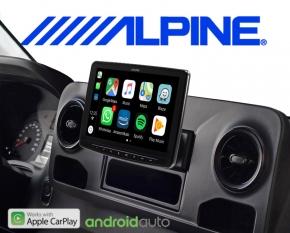 Alpine Premium Autoradio INE-F903-S907 für Mercedes Sprinter W907