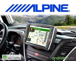 Alpine Premium Autoradio Navigation X902D-ID für Iveco Daily