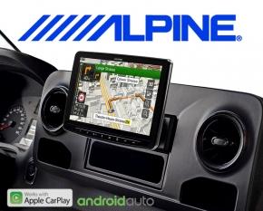 Alpine Premium Autoradio Navigation INE-F904-S907 für Mercedes Sprinter W907