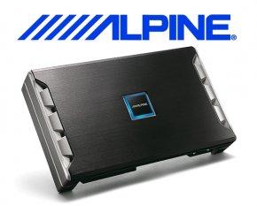 Alpine Auto Verstärker Endstufe PDR-V75 5x 75W 1x 250W