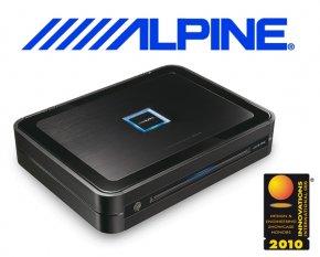 Alpine Auto Verstärker Endstufe PDX-F4 4x 100W