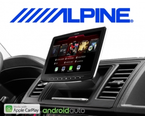 "Alpine Halo 9 Autoradio iLX-F903D Apple Carplay Android 1-DIN 9"" Monitor mit DAB+ für VW T5 T6"