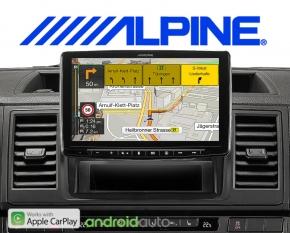 Alpine Premium Autoradio Navigation INE-F904T6 für VW T5 T6
