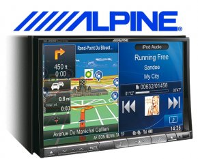 Alpine XXL Navigationsgerät / Autoradio INE-W928R mit USB/iPhone/iPod
