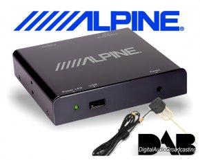 Alpine DAB DAB+ Nachrüstung TUE-DAB1U inkl. Antenne