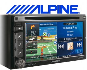 Alpine Navigationsgerät / Autoradio INE-W920R mit USB/iPhone/iPod