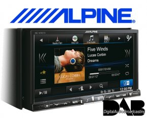 Alpine Navigationsgerät Autoradio INE-W987D mit DAB+ USB/iPhone/iPod