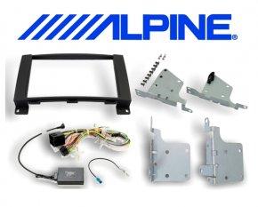 8 Einbauset KIT-8MBF Mercedes für Alpine INE-W928R