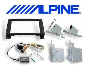 8 Einbauset KIT-8MBM Mercedes für Alpine INE-W928R