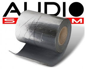 Alubutyl Dämmaterial ALU200 | 5qm | 10m x 0.2m | 1.8mm