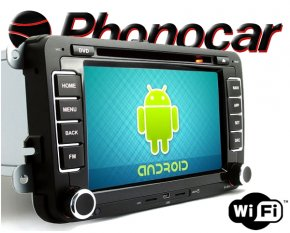 Phonocar Android Seat Skoda VW Multimedia Station VM101 DVD Bluetooth GPS
