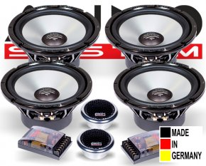Audio System 2-Wege-System HX165-4DUST