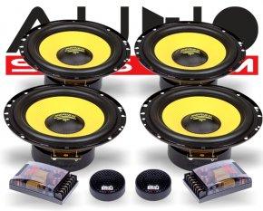 Audio System 2-Wege Auto Lautsprecher-System X 165-4