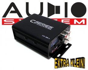 Audio System Car Audio Mini Endstufe CO 35.4