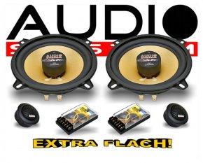 Audio System 2-Wege Auto Lautsprecher-System R 130 FLAT