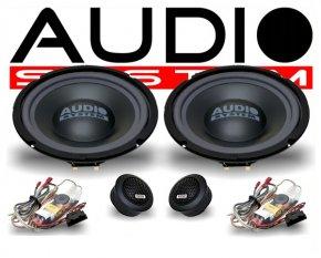 Audio System X200 T5 2-Wege Spezial Front-System VW