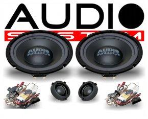 Audio System X200 VW 2-Wege Spezial Front-System VW