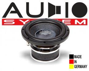Audio System Subwoofer HX 08 SQ