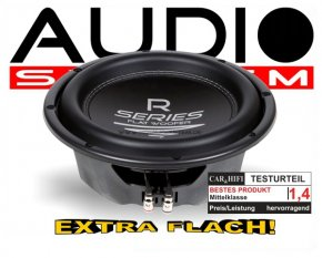 Audio System Subwoofer R 10 FLAT extra flach