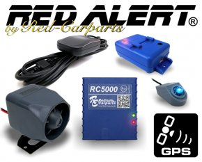 Red-Alert CAN-Bus Auto Alarmanlage RC5000 inkl. GPS Ortung + Handy-Alarm TOPMODELL