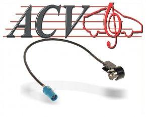 Antennenadapter ISO für Audi / Mercedes / Seat / Skoda / VW