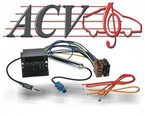 Radioadapter Autoradio Adapter Audi Seat Skoda VW Quadlock und DIN Antenne