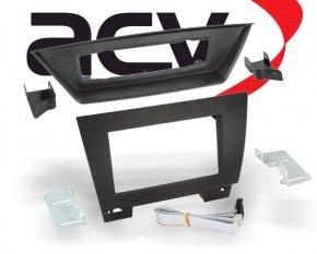 Radioblende Einbaurahmen 2-DIN für BMW X1 E84