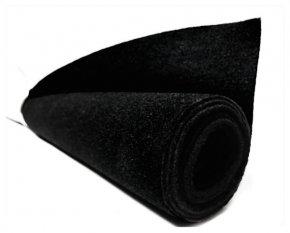 Bezugsfilz / Bespann-Stoff für Boxenbau XL, 150x100cm, schwarz