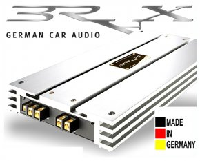 Brax High End Car Hifi Endstufe X-Serie Graphic Edition X2400.2 chrom