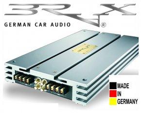 Brax High End Car Hifi Endstufe X-Serie X2400.2 silbern