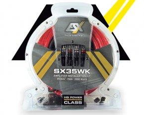 Endstufen Kabelsatz ESX SX35WK