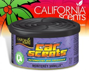 California Scents CarScents air fresh Lufterfrischer - Monterey Vanilla