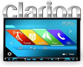 Clarion NX706E Autoradio inkl. Navigation Bluetooth FLAC HDMI
