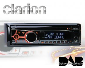 Clarion DAB+ Autoradio CZ505E inkl. Bluetooth Freisprecheinrichtung