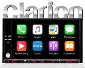 Clarion NX807E Apple Carplay Autoradio inkl. Navigation Bluetooth FLAC HDMI Optional DAB+ Camper