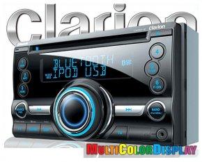 Clarion Autoradio CX501E Doppel-DIN inkl. Bluetooth Fsp.
