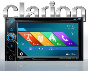 Clarion NX405E Autoradio mit Navigation Bluetooth FLAC Optional DAB+ Camper