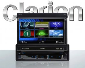 Clarion NZ502E Autoradio inkl. Navigation + Bluetooth