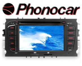 Phonocar Ford 7 Tochscreen Multimedia Station DVD Bluetooth USB GPS
