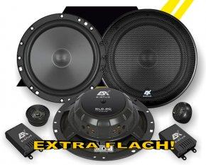 ESX Autolautsprecher Signum Elite 2-Wege System SL-6.2C