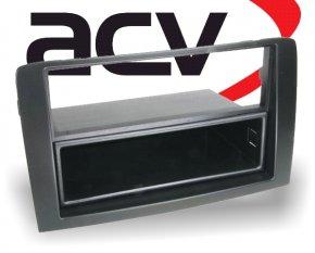 Radioblende mit Ablagefach Fiat Idea (schwarz)
