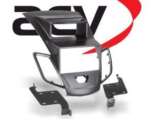 Doppel-DIN Einbaukit für Doppel-DIN Geräte Ford Fiesta schwarz Typ2