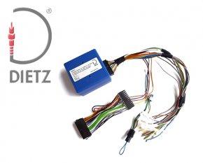 Opel, Chevrolet Lenkradfernbedienungs Autoradio Adapter für Parrot Freisprecheinrichtung